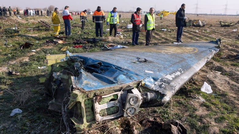 Iran Releases Ukrainian Plane's Flight Recorder Data