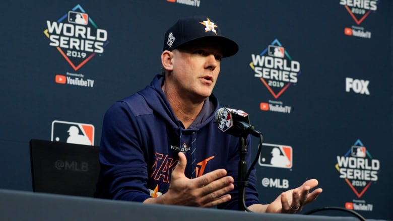 Houston Astros manager A.J