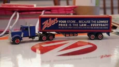 Zellers truck and memory book