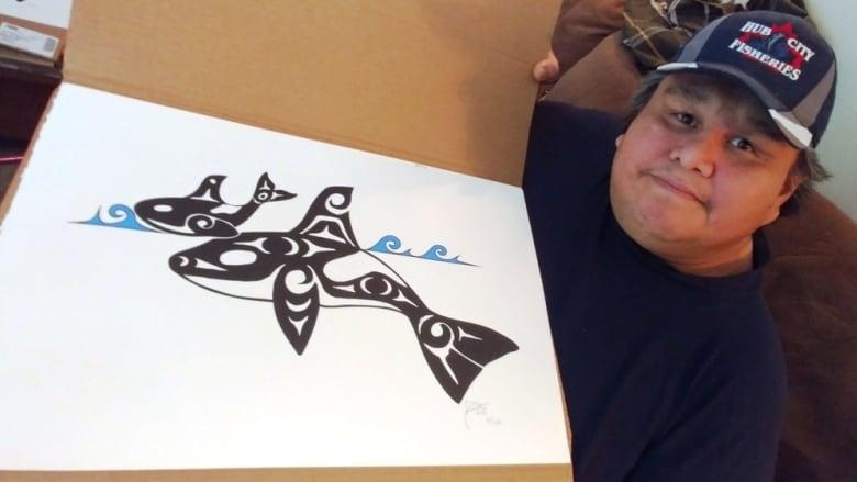 Vancouver Island artist remembered worldwide for his Coast Salish artwork