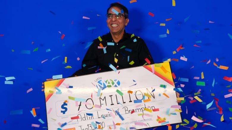 Brampton, Ont., man feeling 'very, very blessed' after winning $70M Lotto Max jackpot