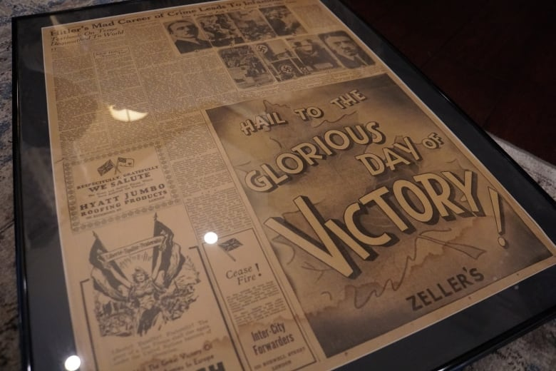 zellers ad from 1945 wwii - As final Zellers stores close, former employees swap memories, memorabilia
