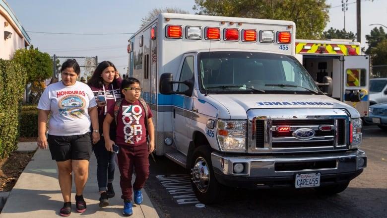 Jet dumps fuel that lands on schoolchildren near Los Angeles