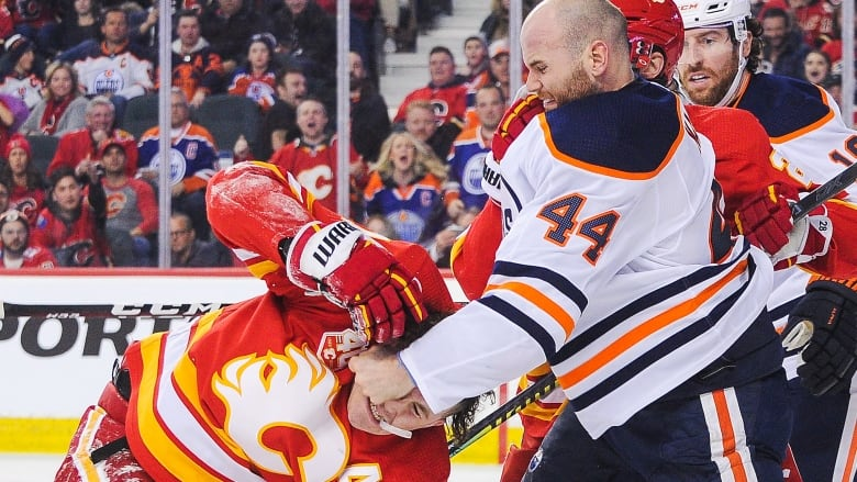 National Hockey League cautions Oilers, Flames ahead of rematch