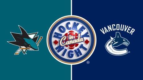 HNIC - San Jose Sharks at Vancouver Canucks