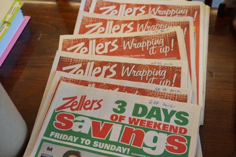 zellers fliers - As final Zellers stores close, former employees swap memories, memorabilia