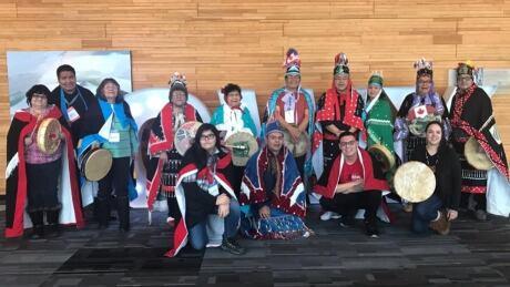 Lake Babine Nation drum group
