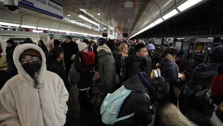 Even TransLink is frustrated by SkyTrain delays this week