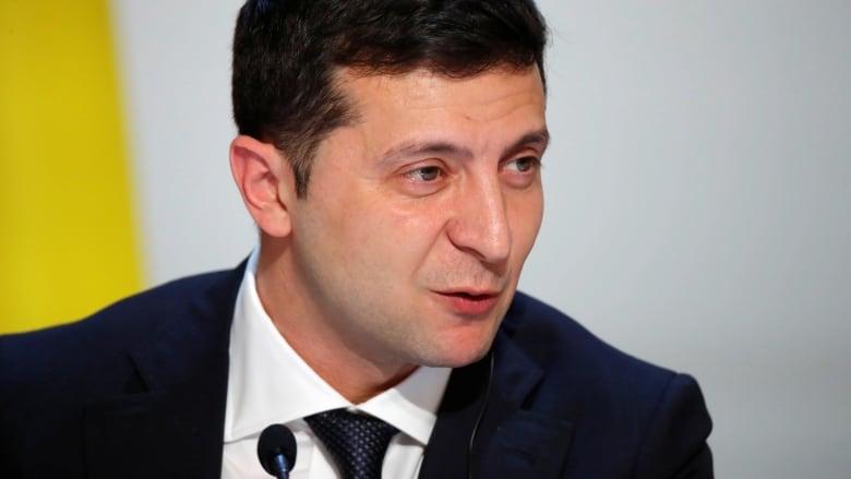 Ukrainian president Zelensky rejects PM's resignation