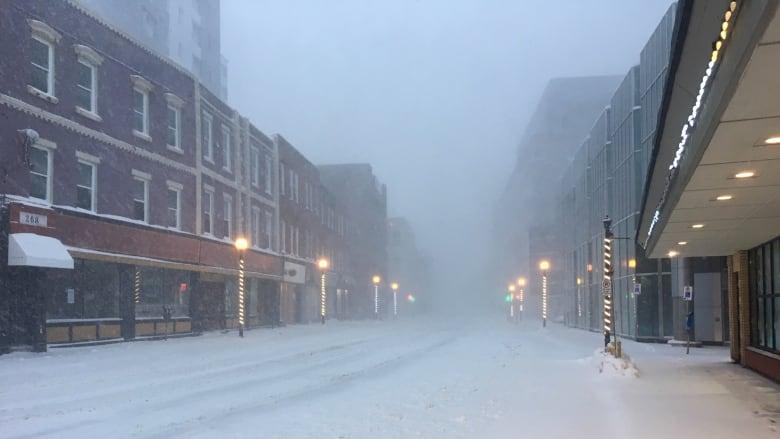 Raging blizzard brings eastern Newfoundland to a standstill