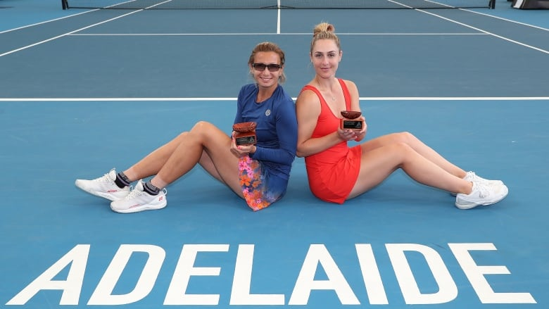 Canada's Dabrowski falls short in Adelaide International doubles final