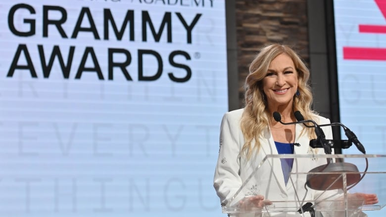 New Grammys CEO put on leave 10 days before awards show