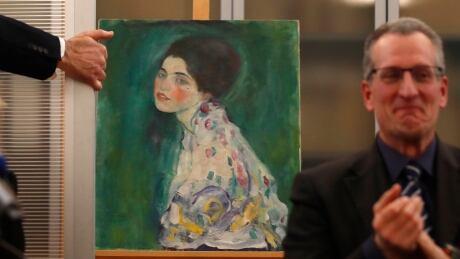 APTOPIX Italy Stolen Klimt