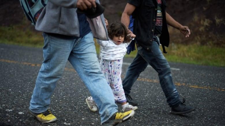 Hondurans, others forming migrant caravan presently in Guatemala