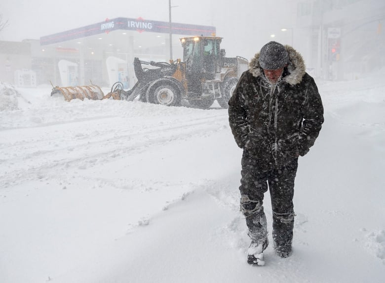 Record-smashing blizzard holds eastern Newfoundland in grip