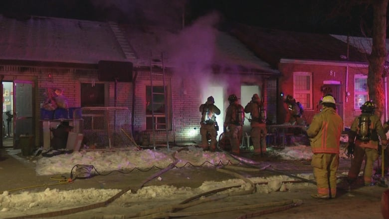 1 person sent to hospital after early morning house fire