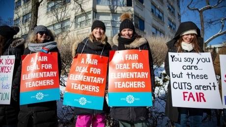 Ontario teachers strike Toronto