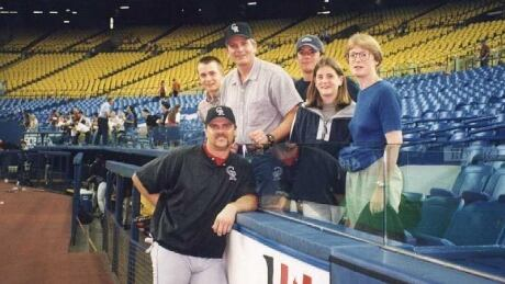 Larry Walker and the Kehoe family