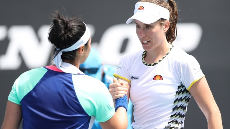 Slowed by injury, British No. 1 Johanna Konta makes early Australian Open exit