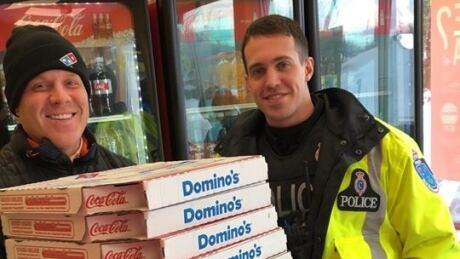 Shaun White pizza