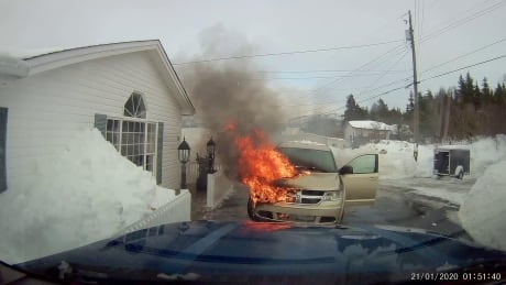 petty harbour fire
