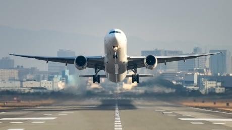 Generic airplane taking off