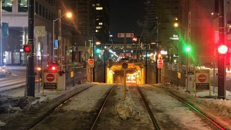 Queen Quay streetcar tunnel