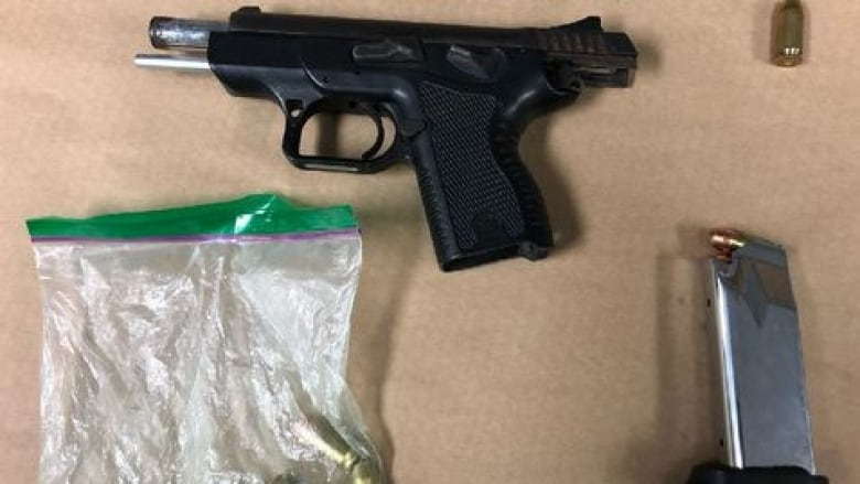 2 men face firearm charges after gun flashed while car cruised down Barton: police