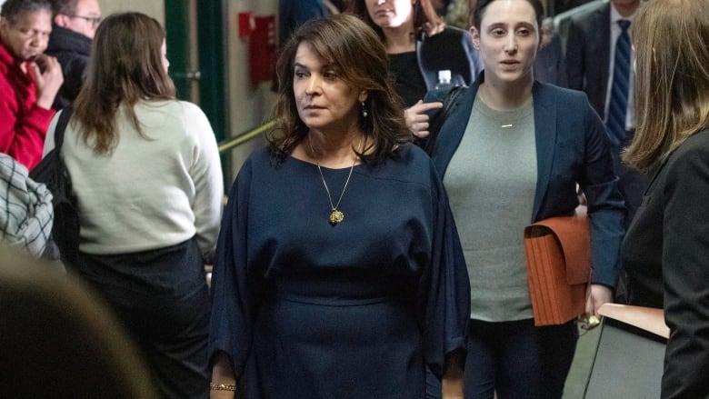Actress Annabella Sciorra testifies that Harvey Weinstein raped her