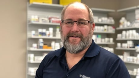 <div>Pharmacist says increased demand for flu vaccine 'astronomical'</div>