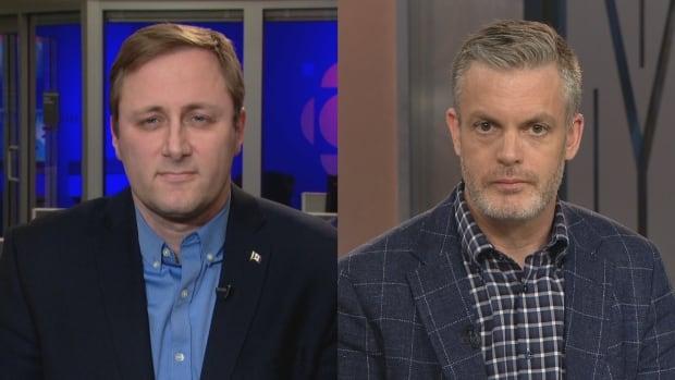 Watch: Kory Teneycke, Brad Trost debate Tory leadership candidate's LGBTQ2 remarks