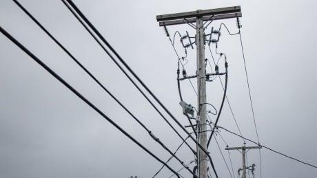 Nova Scotia Power power lines