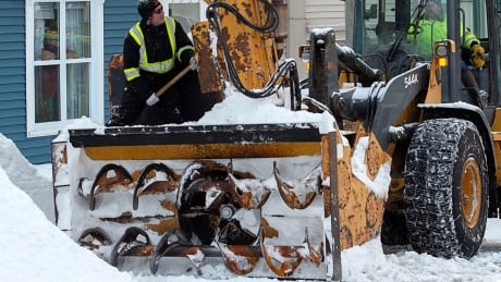 Snowclearing after St.John's blizzard