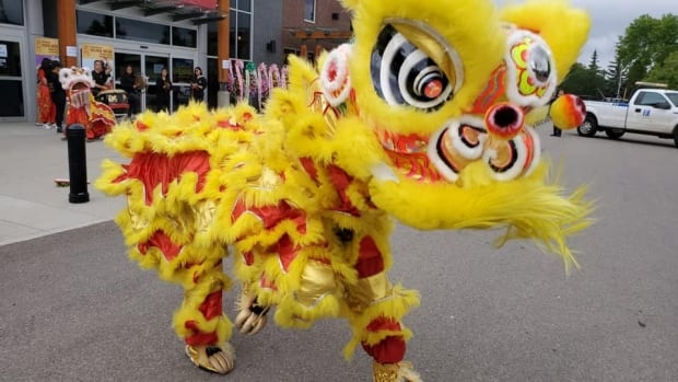 squats   time chinese lion dance brings