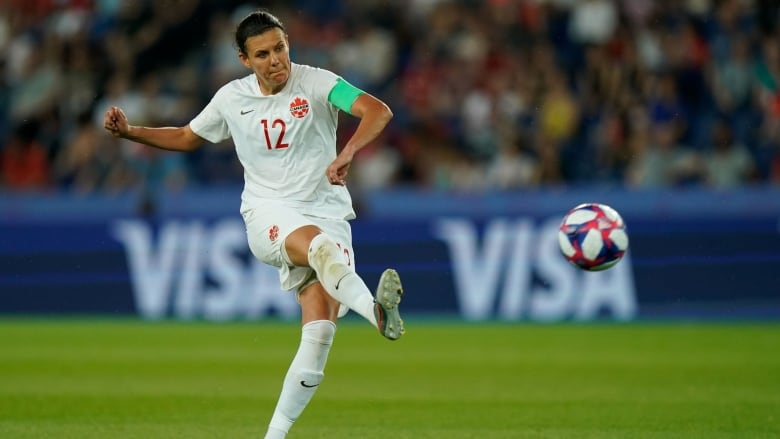 Christine Sinclair and Canada's women's soccer team know milestone goal awaits, but focus is on Olympic berth