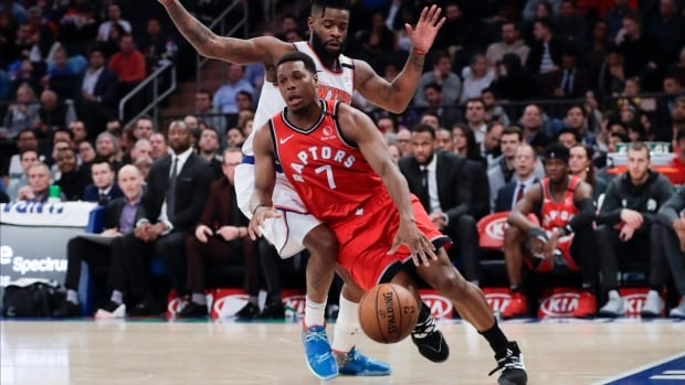 Raptors' firepower too much for Knicks, extend win streak to 6
