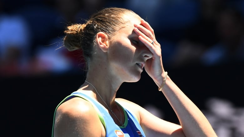 Second seed Pliskova out in latest Australian Open shock