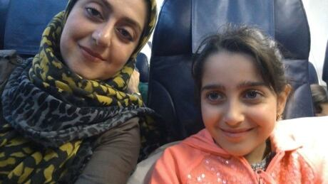 Sahar Haghjoo and Elsa Jadidi