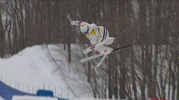 Kingsbury is golden on Tremblant moguls again