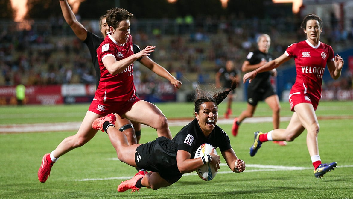 Canadian Women Fall Short In Final To Hosts At New Zealand 7s Cbc Sports