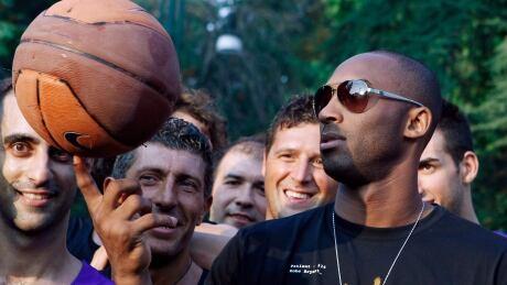 Kobe Bryant Italy Basketball