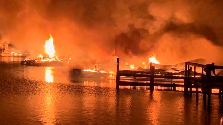 At least 8 killed after fire, explosions at Alabama marina