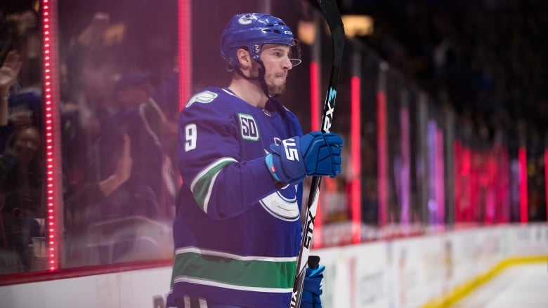 Canucks pick up where they left off before all-star break in victory over Blues