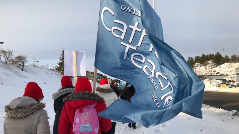 Ontario's Catholic teachers to hold 2nd one-day, provincewide strike next week