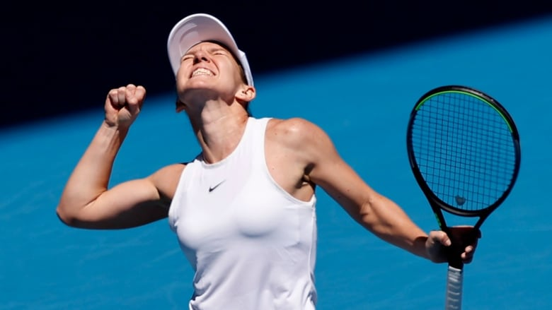 Simona Halep easily beats Anett Kontaveit to reach Aussie Open semifinals