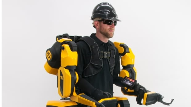 The future is now: how exoskeletons are changing Canada's construction industry | CBC News