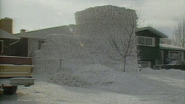 A truly giant snow fort that caught the eye of wary grown-ups in Regina