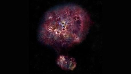 XMM-2599 massive galaxy