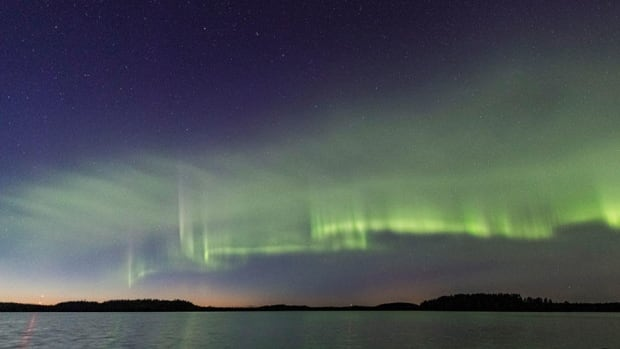 You'd be lucky to see these newly-discovered aurora in the night sky | CBC News