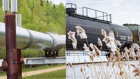 trains vs pipelines